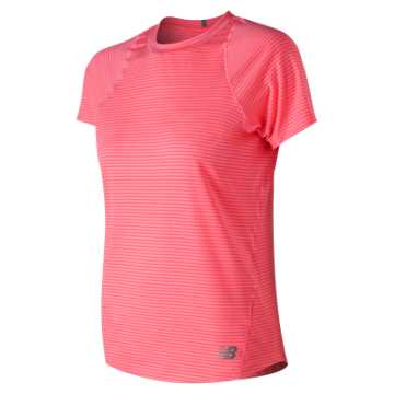 New Balance Seasonless Short Sleeve, Guava
