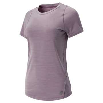 New Balance Seasonless Short Sleeve, Kite Purple