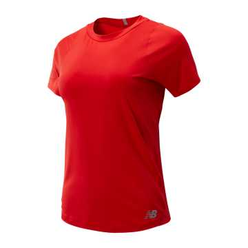 New Balance Seasonless Short Sleeve, Velocity Red