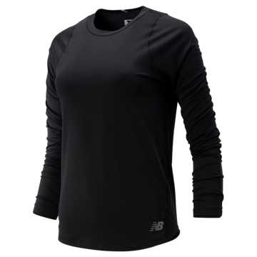 New Balance Seasonless Long Sleeve, Black