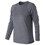 New Balance Seasonless Long Sleeve, Eclipse Heather