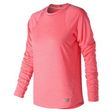 New Balance Seasonless Long Sleeve, Guava