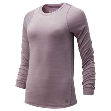 New Balance Seasonless Long Sleeve, Kite Purple
