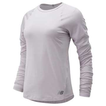 New Balance Seasonless Long Sleeve, Light Cashmere Heather
