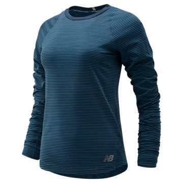 New Balance Seasonless Long Sleeve, North Sea Heather