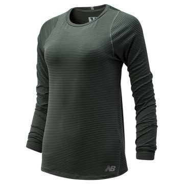 New Balance Seasonless Long Sleeve, Slate Green