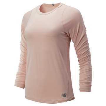 New Balance Seasonless Long Sleeve, White Oak