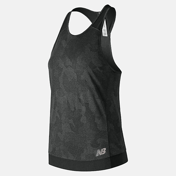 New Balance Camisole Q Speed Breathe, WT91251BK