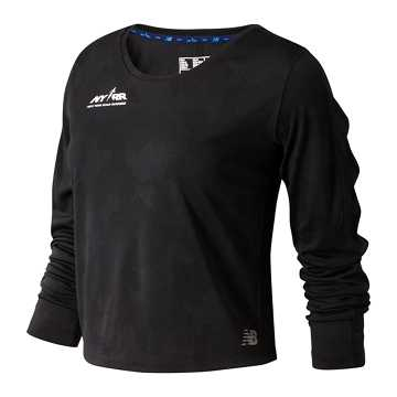 New Balance Run 4 Life Q Speed Breathe Long Sleeve, Black