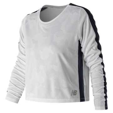 New Balance Q Speed Breathe Long Sleeve, White