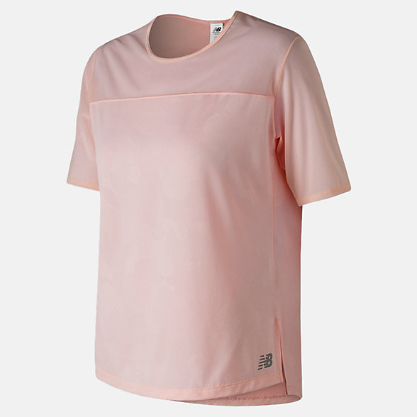 New Balance T-shirt à manches mi-longueur Q Speed Breathe, WT91254SGT