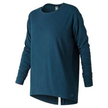 New Balance Studio Relaxed Long Sleeve, North Sea Heather