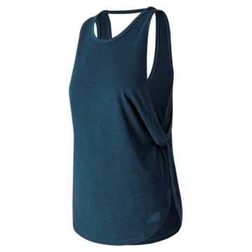 New Balance Studio Relaxed Tank, North Sea Heather