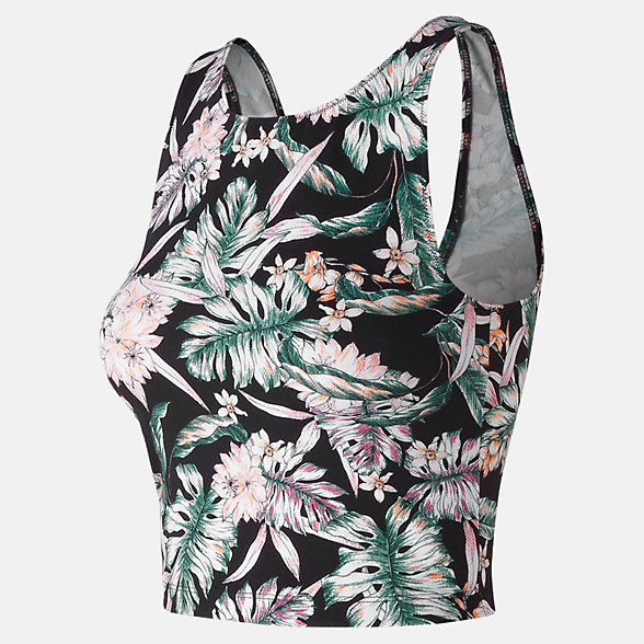 NB Printed Evolve Crop Tank, WT91471BM