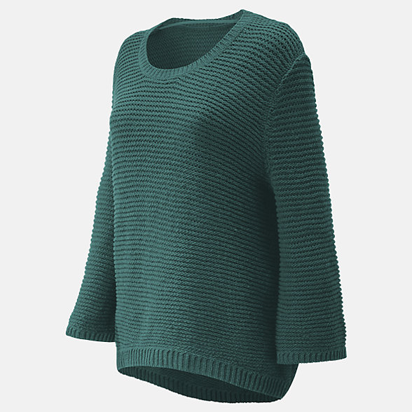 New Balance Studio Open Stitch Sweater, WT91486DVE
