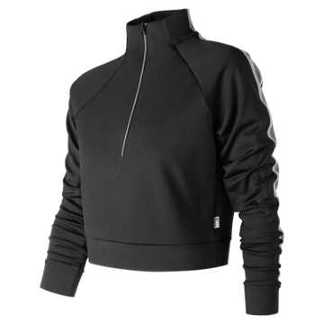 New Balance NB Athletics Select Track Pullover, Black