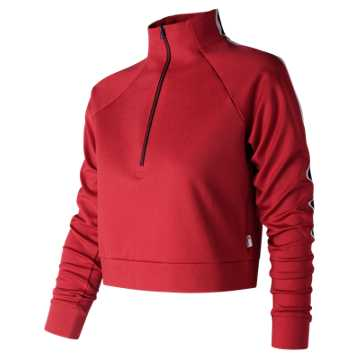 New Balance NB Athletics Select Track Pullover, Team Red Inline