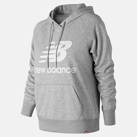 New Balance Essentials Pullover Hoodie, WT91523AG image number null