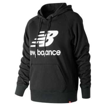 New Balance Essentials Pullover Hoodie, Black
