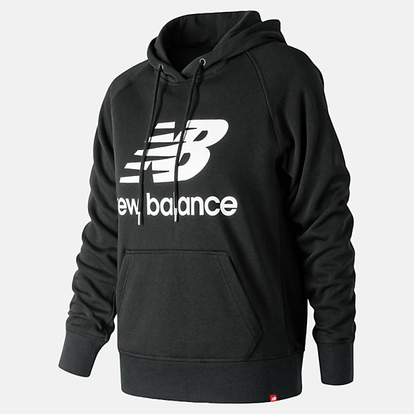 New Balance Essentials Pullover Hoodie, WT91523BK