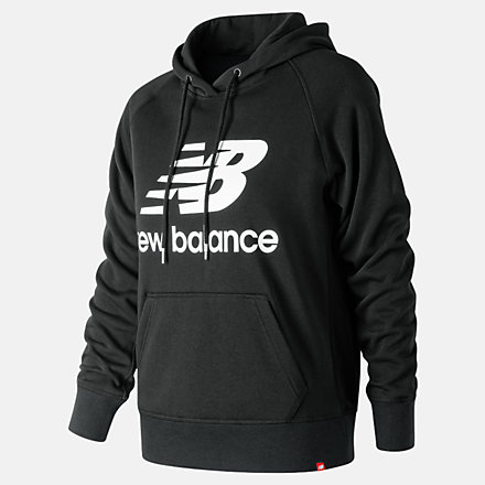 New Balance Essentials Pullover Hoodie, WT91523BK image number null