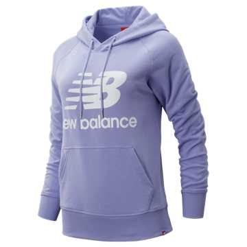 New Balance Essentials Pullover Hoodie, Clear Amethyst