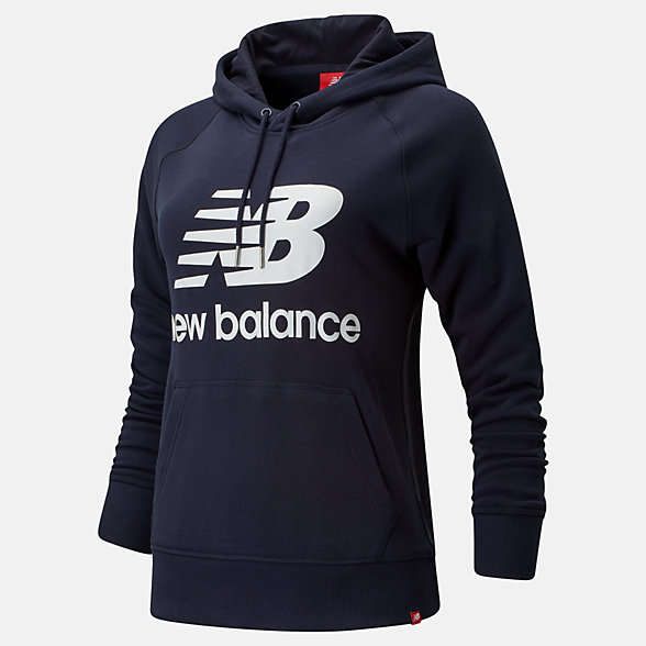 NB Essentials Pullover Hoodie, WT91523ECL