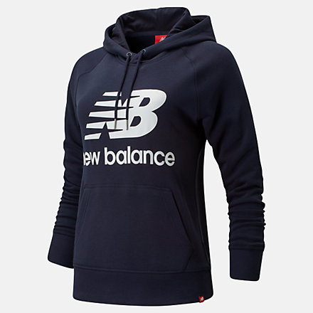 New Balance Essentials Pullover Hoodie, WT91523ECL image number null