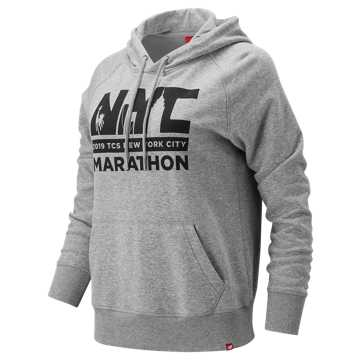 New Balance NYC Marathon Essentials PO Hoodie, Athletic Grey