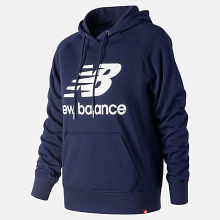 New Balance Essentials Pullover Hoodie, WT91523PGM image number null