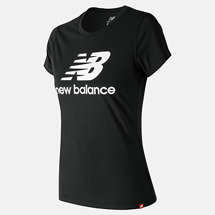 New Balance T-shirt avec logo Essentiel superposé, WT91546BK image number null
