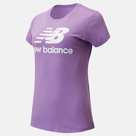 New Balance Essentials Stacked Logo Tee, WT91546NVI image number null
