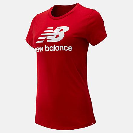 New Balance T-shirt avec logo Essentiel superposé, WT91546REP image number null