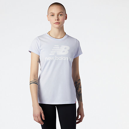 NB Essentials Stacked Logo T-Shirt, WT91546SIY image number null