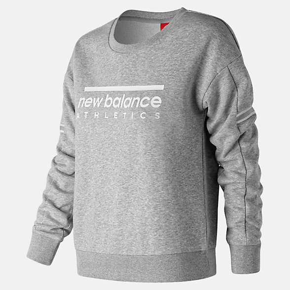New Balance NB Athletics Crew, WT91551AG