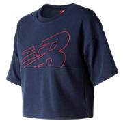 NB NB Athletics Crop Jersey, Pigment