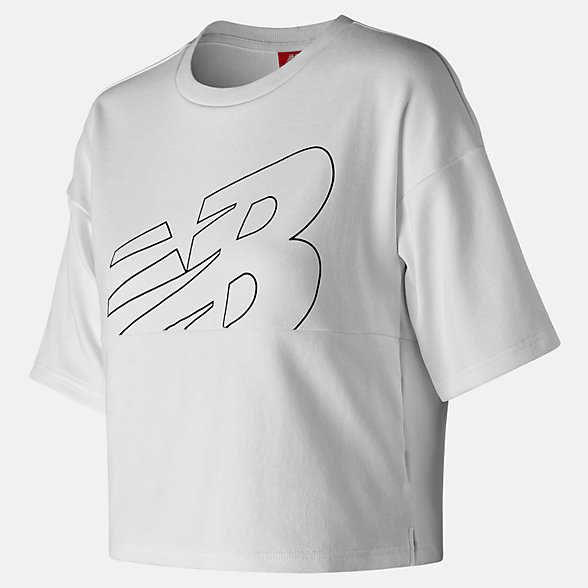 New Balance NB Athletics Crop Jersey, WT91552WT