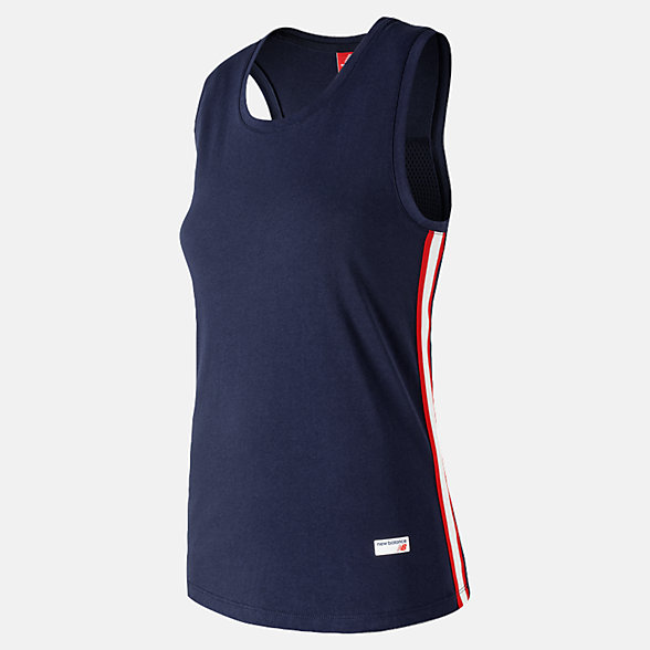 New Balance NB Athletics Racerback Tank, WT91558PGM
