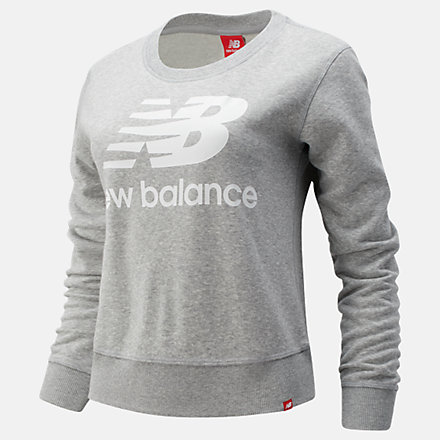 New Balance Essentials Crew, WT91585AG image number null
