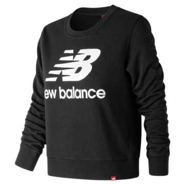 New Balance Essentials Crew, Black