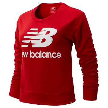 New Balance Essentials Crew, Team Red