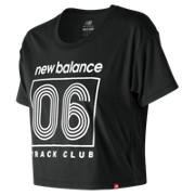NB Essentials Tc Cropped Tee, Black