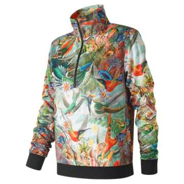 New Balance Sweet Nectar Track Pullover, Urban Floral Print