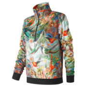 NB Sweet Nectar Track Pullover, Urban Floral Print