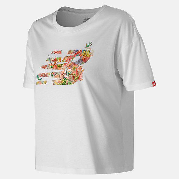 New Balance T-shirt Sweet Nectar NB, WT91597WT