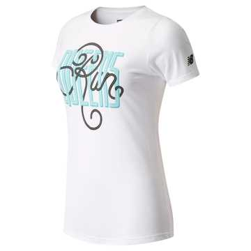 New Balance Run Queens™ Tee, White