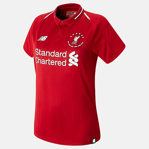 NB LFC 6 Times 18/19 Home Womens SS Jersey, WT930501HME