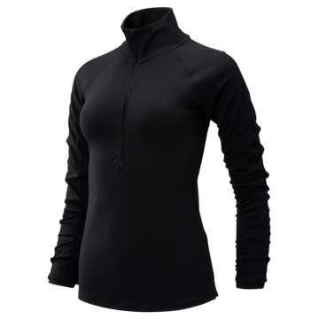 New Balance Transform Half Zip, Black