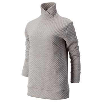 New Balance NB Heat Loft Pullover, Athletic Grey