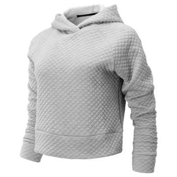 New Balance NB Heat Loft Hoodie, Athletic Grey